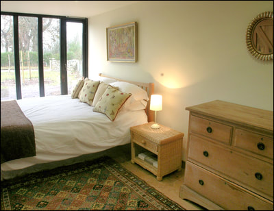 Lackford Lakes Barns, Cart Lodge, double bedroom, ground floor