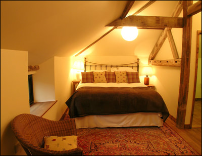Lackford Lakes Barns, Cart Lodge, double bedroom, first floor
